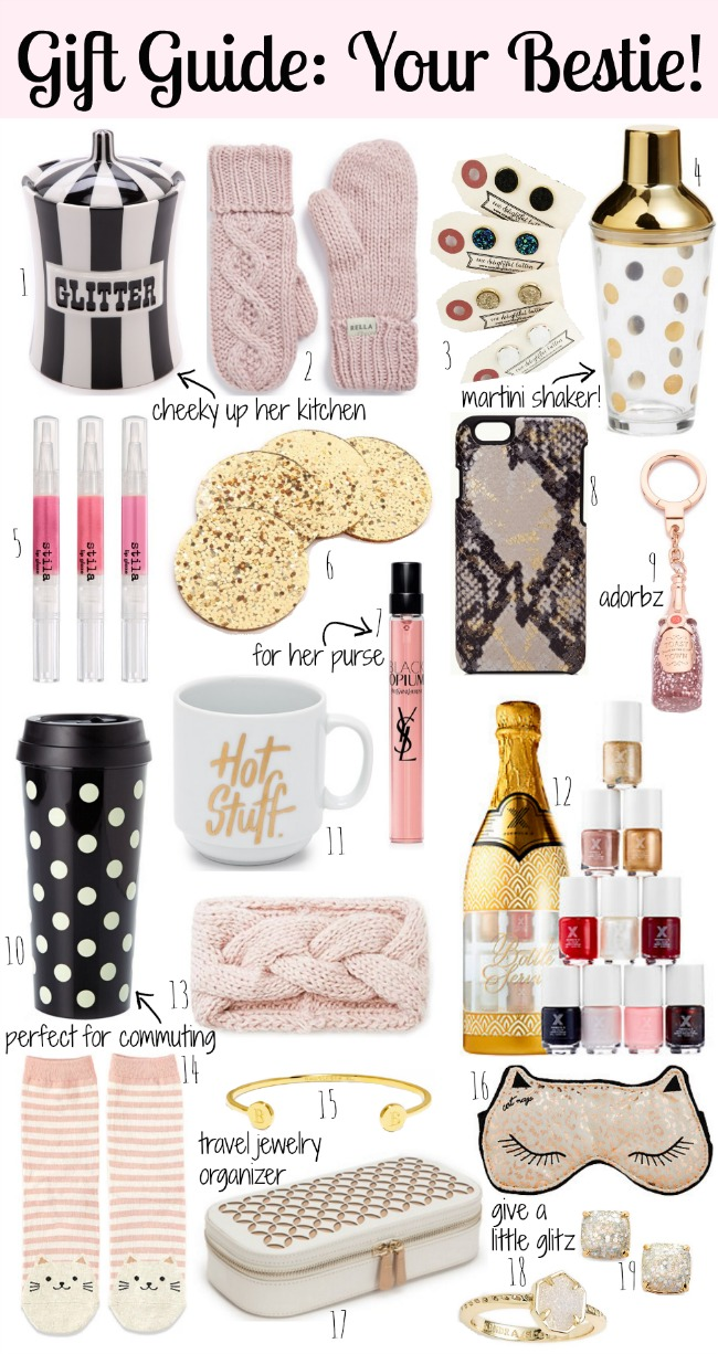 Holiday Gift Guide: Your Bestie - A Mix of Min