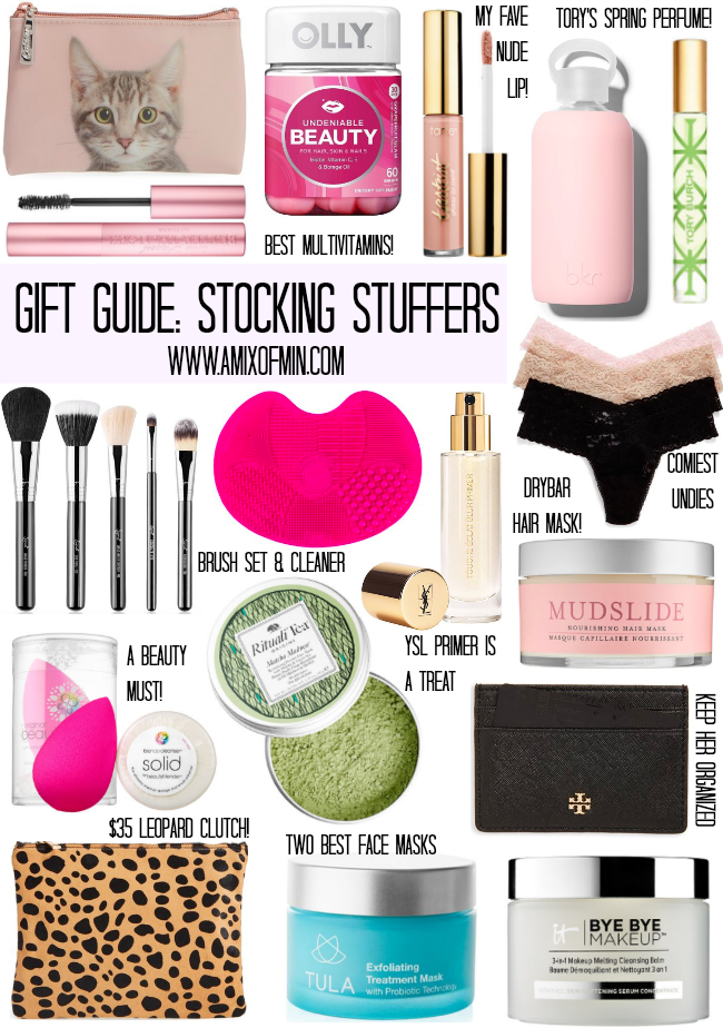 Gift Guide Girly Girl Stocking Stuffers