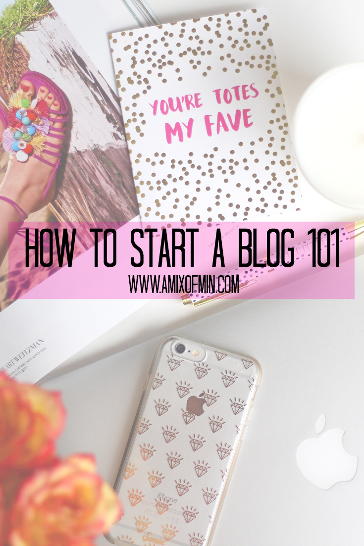 how to start a blog 101