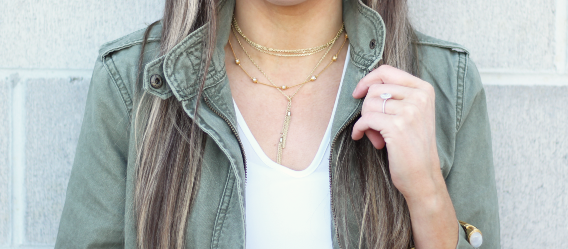 Currently Trending: Gold Layering Necklaces