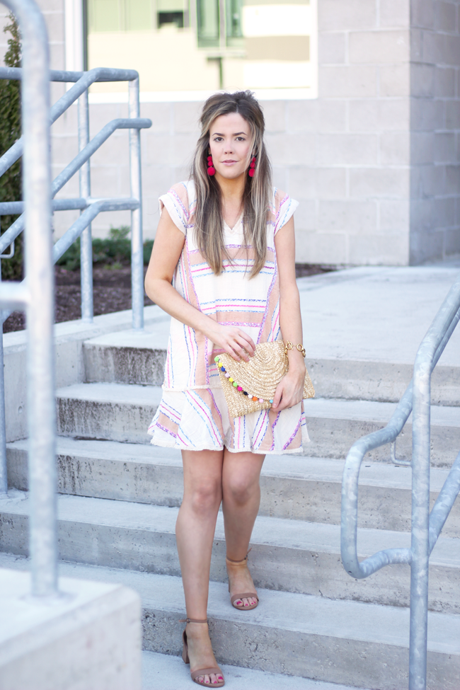 spring anthropologie dress