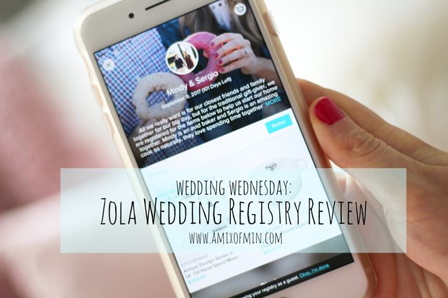 zola wedding registry review