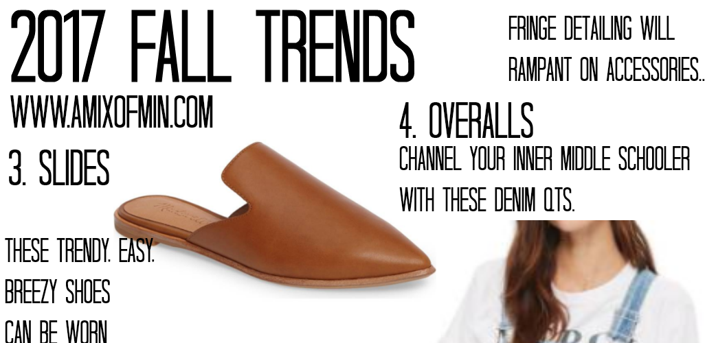 2017 Fall Trends