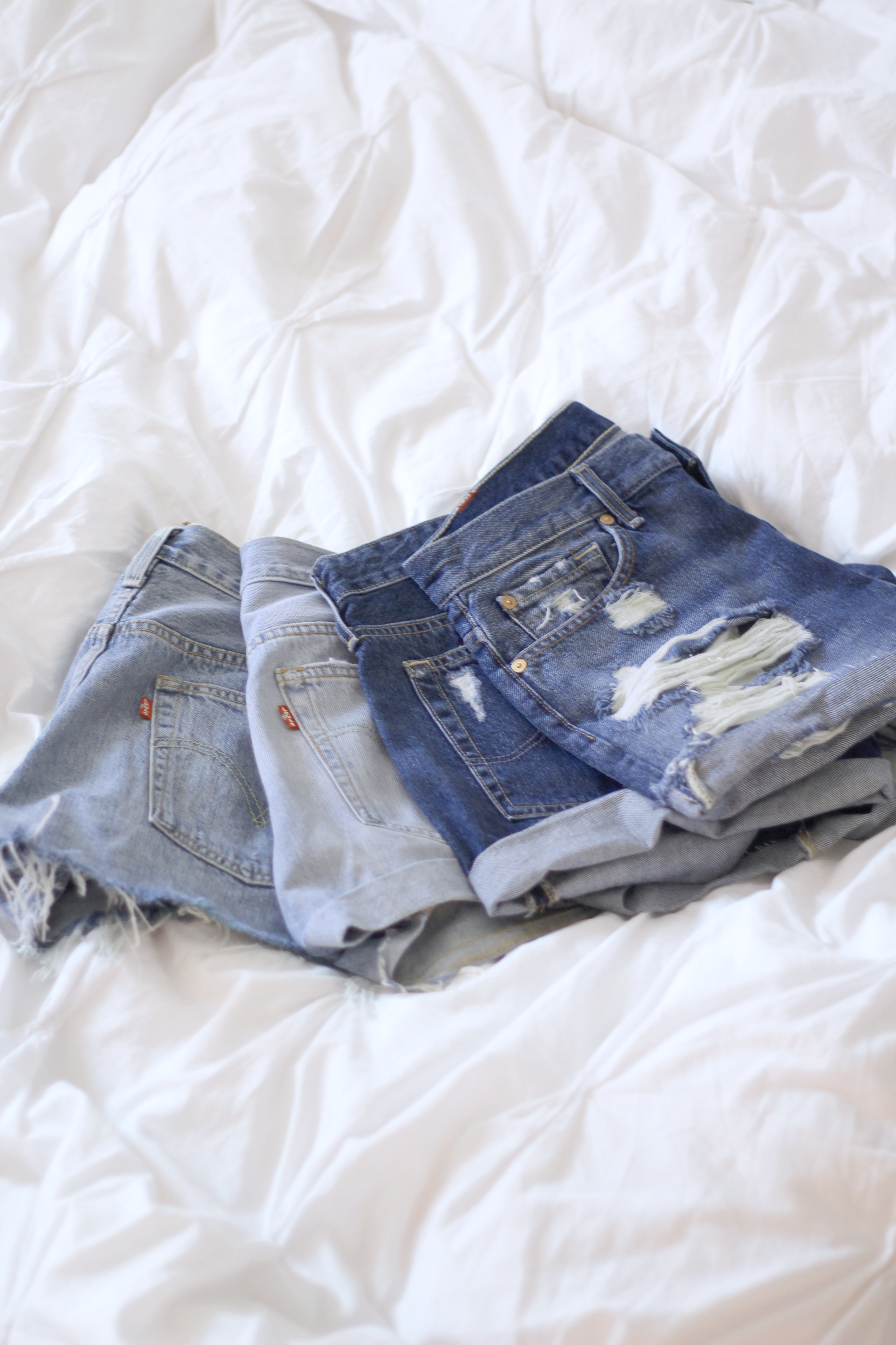 affordable denim shorts