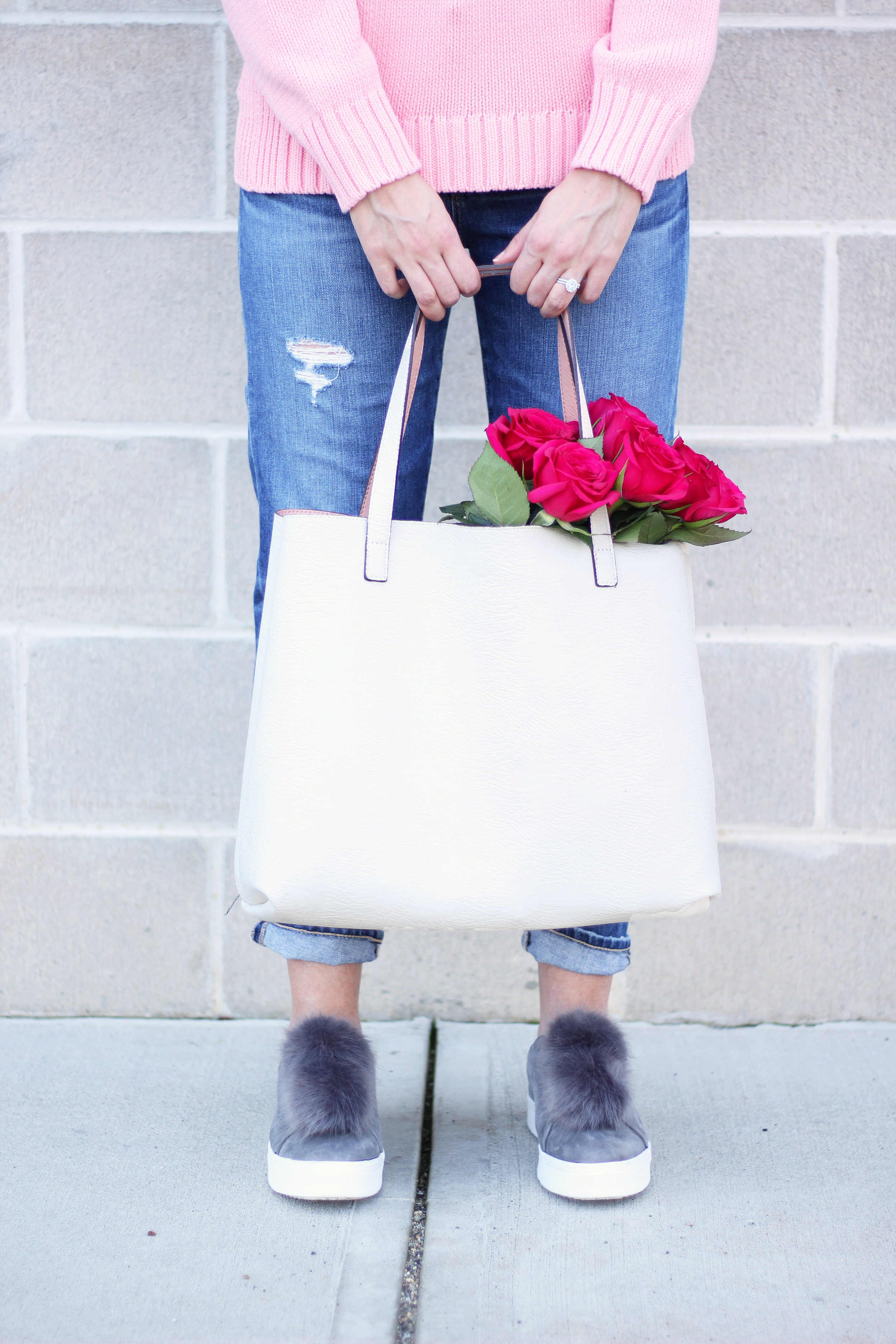 street level affordable reversible tote review