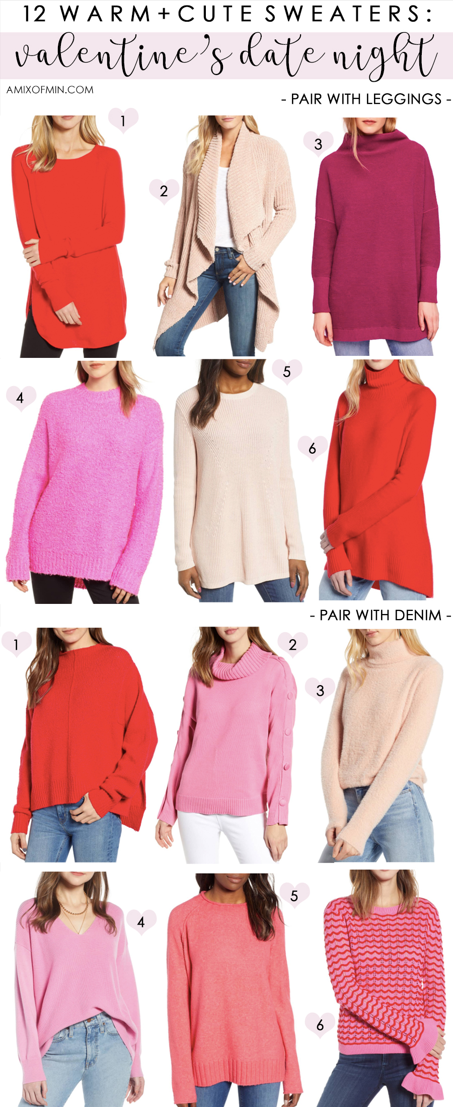 321cf7e4140e 12 Warm + Cute Sweaters for Valentine s Date Night. VALENTINES-DAY-OUTFITS- IDEAS-900