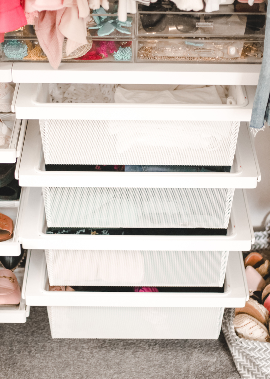 Optimizing Closet Space With The Container Store A Mix Of Min